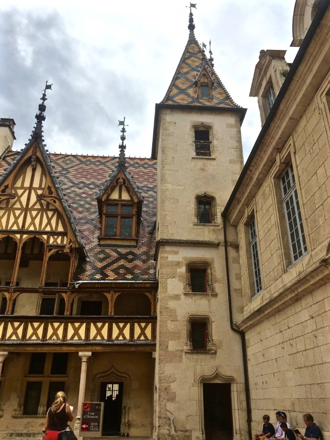 "Hotel-Dieu Hospices de Beaune, established as a ""palace for the poor"" in 1443."