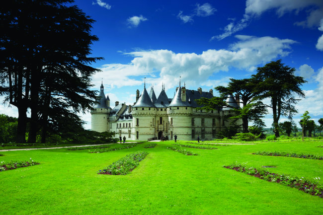 The Chateau de Chaumont-sur-Loire