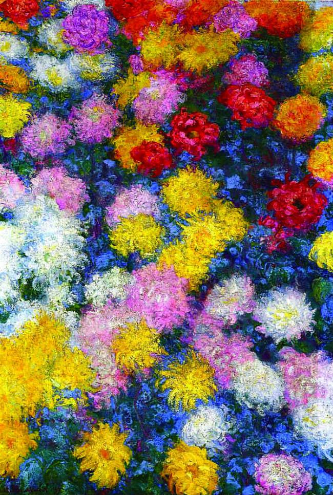 "Monet's ""Chrysanthemums"""