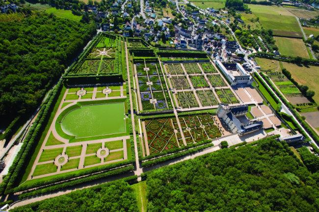 Villandry's Renaissance gardens. Photo: Château de Villandry