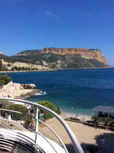 The view over Cassis