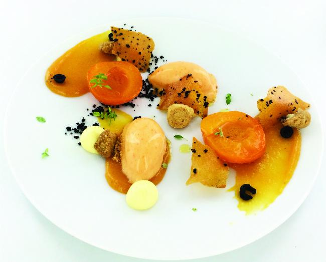a dish at La Tour d'Argent