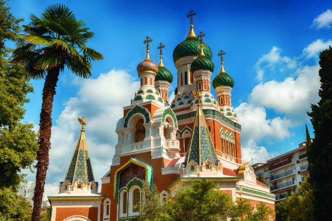 Nice's Russian Orthodox Cathedral