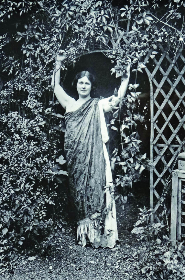 Isadora Duncan in Bellevue