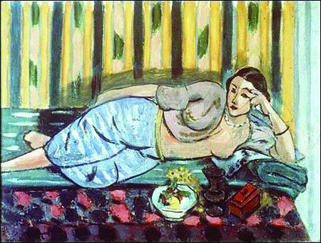 """Matisse, """"L'Odalisque au coffret rouge"""""""