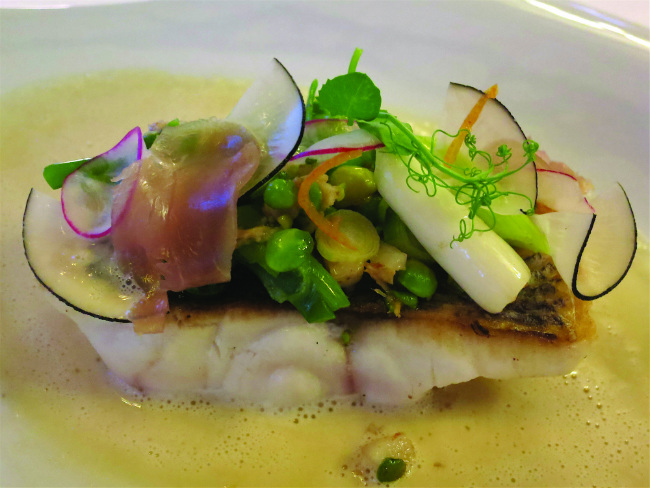 Le Brittany - Turbot with beurre blanc