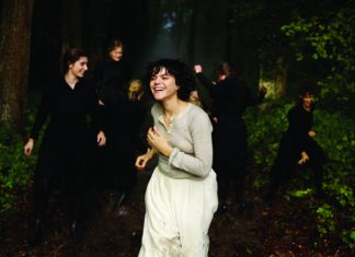 Musician-turned-actress Soko plays Loie Fuller in La Danseuse