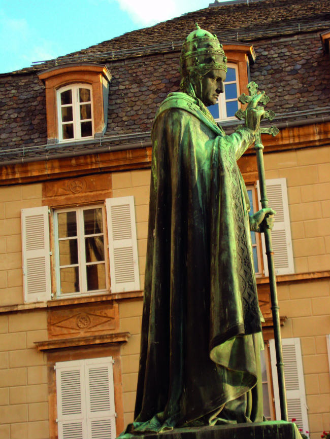 Guillaume de Grimoard, known as Pope Urban V, was a native of the Languedoc.