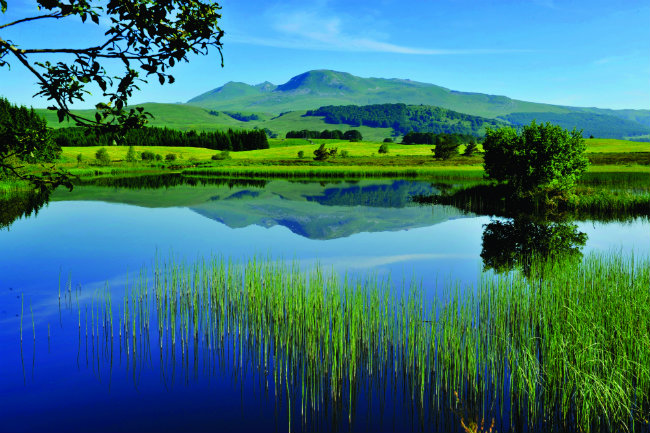 The Massif du Sancy in Auvergne is home to the highest volcano in France