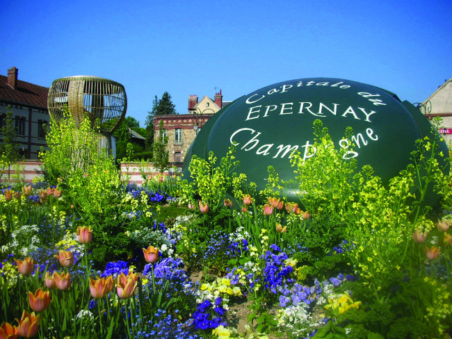 Epernay, the self-styled capital of Champagne