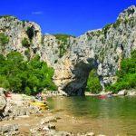 Le Pont d'Arc in the Ardèche