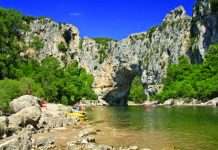 Le Pont d'Arc in the Ardèche