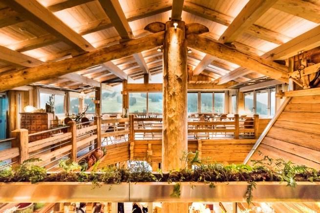 maison des bois marc veyrat 39 s new restaurant in the. Black Bedroom Furniture Sets. Home Design Ideas
