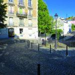 The Rue de l'Abreuvoir in Montmartre