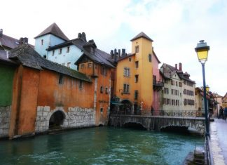 "Annecy, ""Little Venice."""