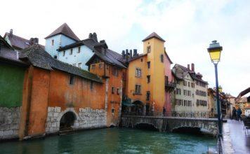 "Annecy, ""Little Venice."""