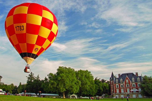 The fête de la montgolfière in Annonay