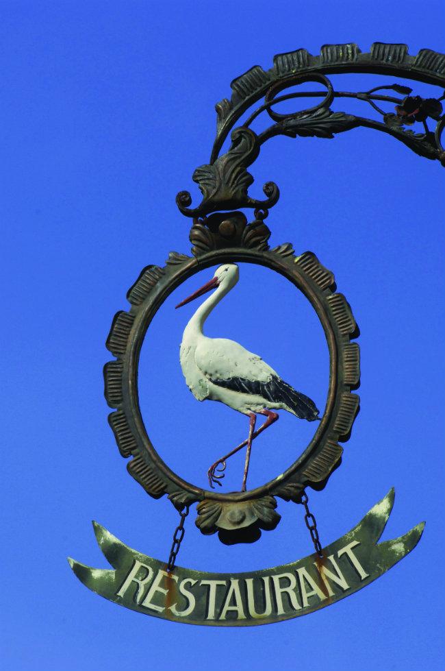 stork of Alsace