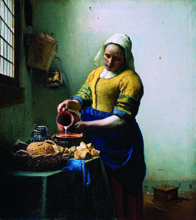 Johannes Vermeer, The Milkmaid