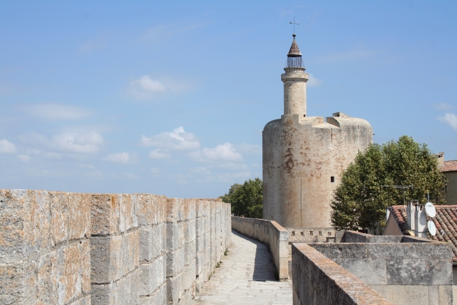 AiguesMortes in the Camargue Medieval Walled Town Visit France