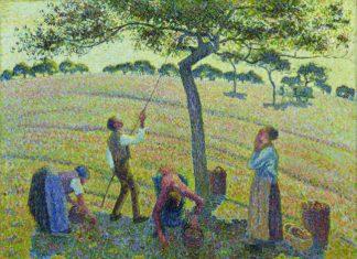 Camille Pissarro, La Cueillette des pommes
