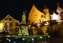 Eguisheim is famous for its Christmas market