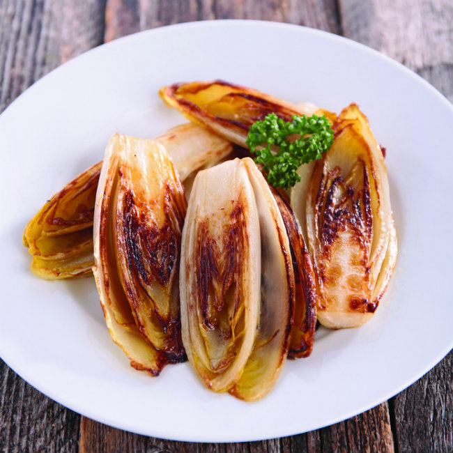 Roasted endives