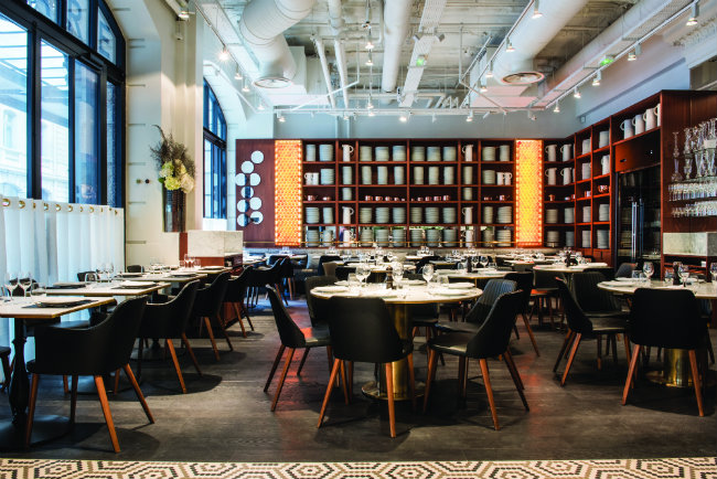 Lazare, Eric Frechon's brasserie