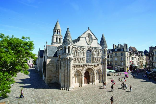 The Église Notre-Dame-la-Grande