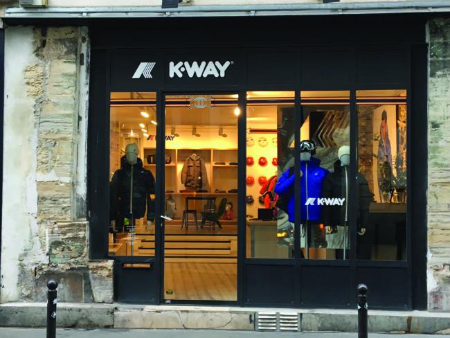 3c01bed87db8cc The dedicated K-Way store has been a Rue de Charonne fixture since  September 2013. Photo: Jennifer Ladonne