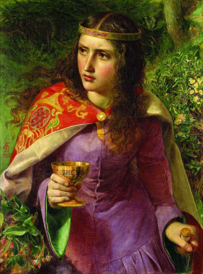 Queen Eleanor by Frederick Sandys