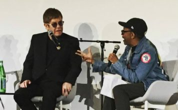 """Elton John and Spike Lee discuss """"The Cut"""" at Cannes Film Festival."""