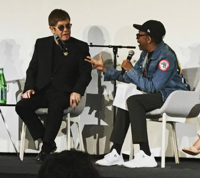 Elton John and Spike Lee discuss