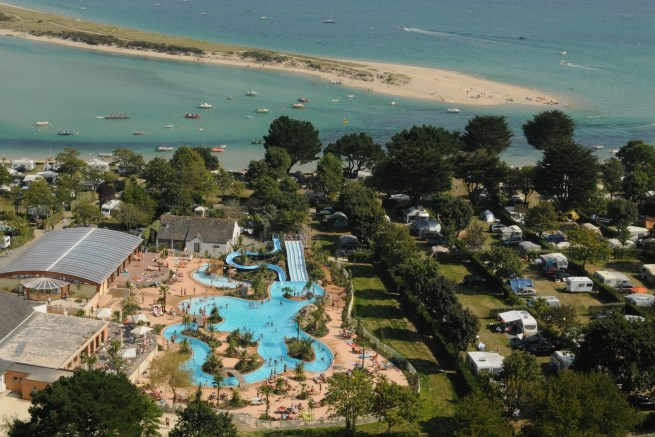 Le Letty Campsite Is Located In Benodet ...