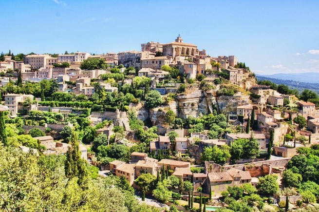 A guide to the villages of the luberon provence france - Petit jardin fabregues aixen provence ...