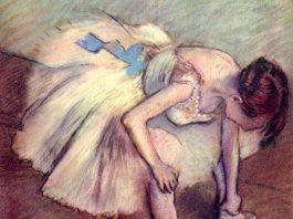 Edgar Degas, Danseuse assise se massant le pied [detail], 1881-1883 © Musée d'Orsay, Dist. RMN-Grand Palais / Patrice Schmidt
