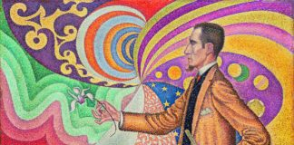 Paul Signac portrait of M. Félix Fénéon, 1890 ©The Museum of Modern Art, New York Gift of M. et Mme David Rockefeller, 1991