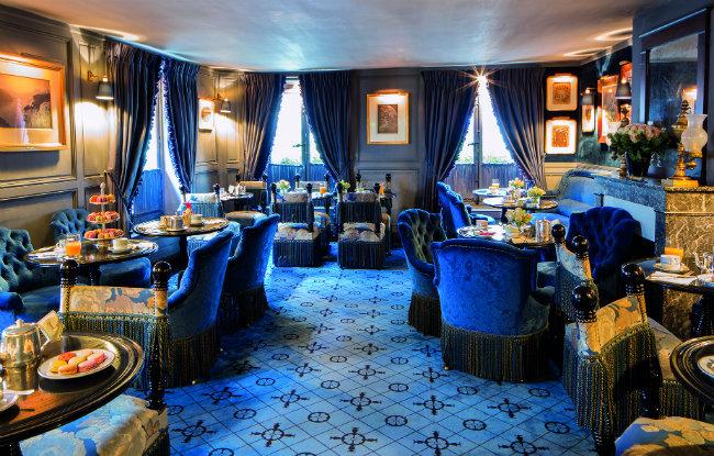 Laduree Bonaparte - Salon Bleu | France Today