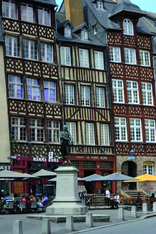 Travel In France Explore The City Of Rennes In Brittany