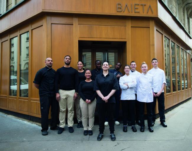 Restaurants in Paris: Baieta by Chef Julia Sedefdjian on the Left Bank