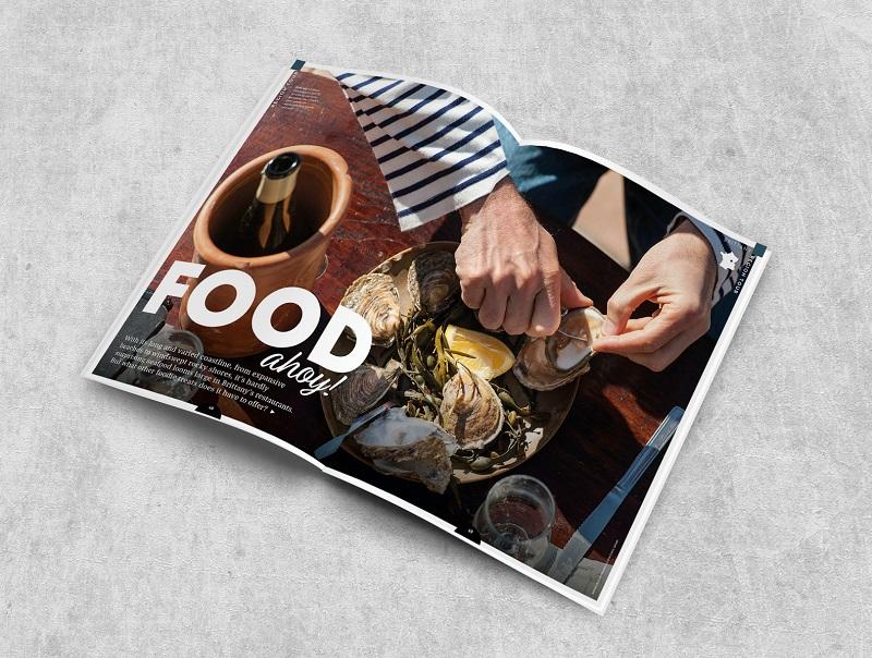 Were Launching Taste of France Magazine