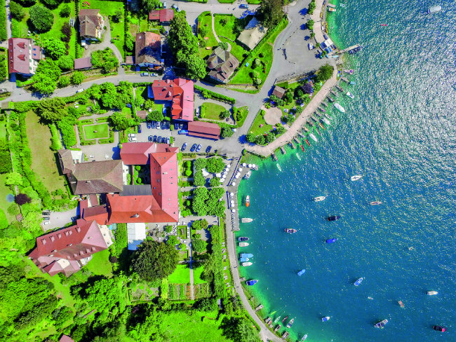 Lakeside Luxury at Abbaye de Talloires on Lac d'Annecy