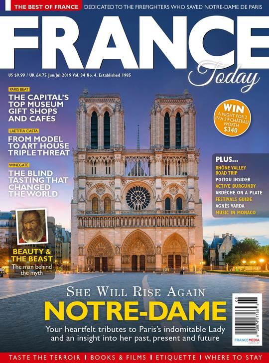 The Fire of Notre-Dame de Paris