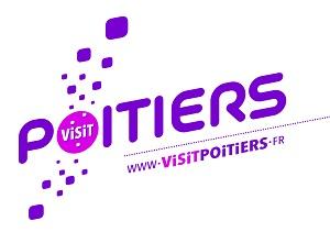 Visit poitiers logo - tourism