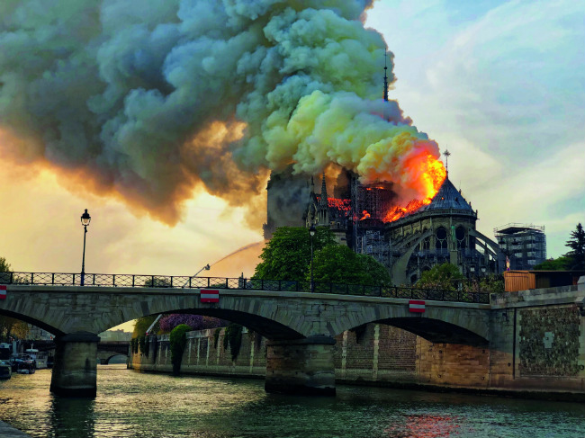 The Fire of Notre-Dame de Paris