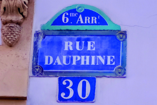 Parisian Walkways: Rue Dauphine on the Left Bank