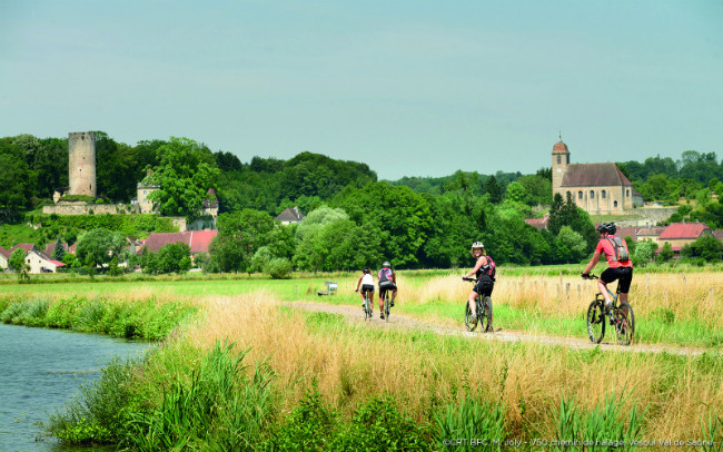 Up for Adventure: Biking and Boating in Bourgogne-Franche-Comté