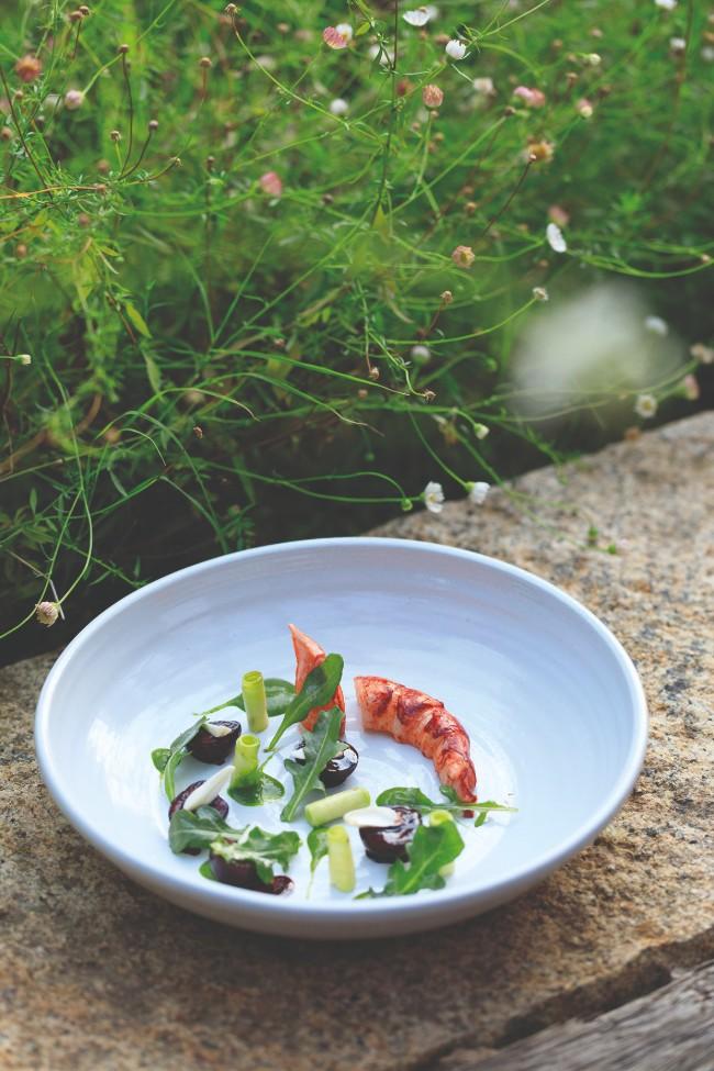 Dining in Corsica: La Table de la Ferme at Domaine de Murtoli