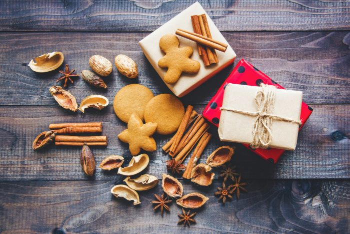 Christmas gifting and gingerbread cookies