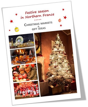 Christmas brochure or guide for Hauts-de-France